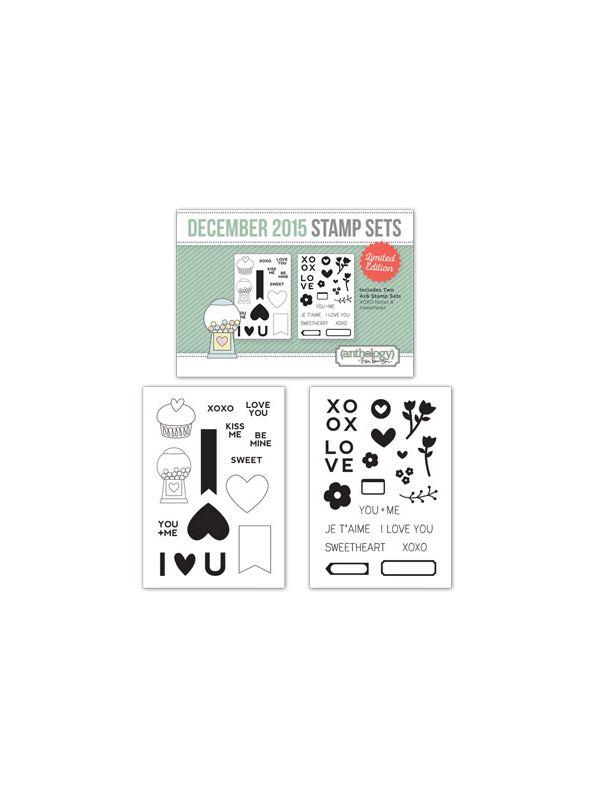 December Stamp Set